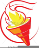 Sign Torch Clipart Image