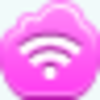 Free Pink Cloud Wireless Signal Image