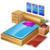Bedroom Icon Image