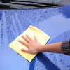 Car Cleaning Towel Large Chamois Car Wash Towel Shammy Deerskin Towel Quick Dry Chamois Image