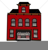 Firehouse Clipart Image