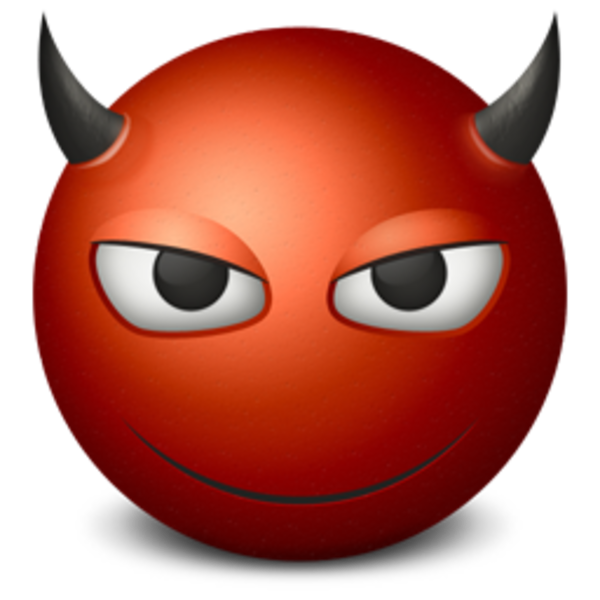 Emoticon Devil 256 | Free Images at Clker.com - vector ...