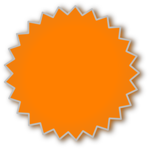 Starburst Outline Clip Art