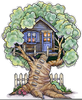 Magic Tree House Clipart Image