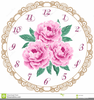 Peonies Clipart Image