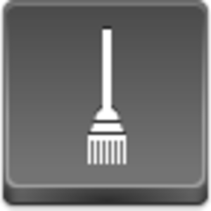 Free Grey Button Icons Broom Image