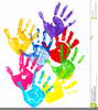 Clipart Of Childrens Handprints Image