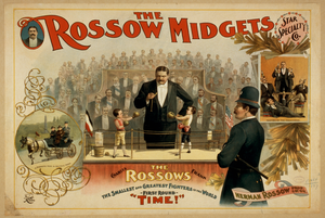 The Rossow Midgets, Star Speciality Co. Image