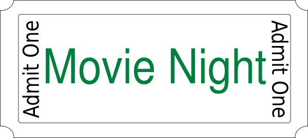 clipart of movie night - photo #32