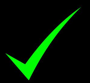 Green Check Mark Clip Art at Clker.com - vector clip art ...
