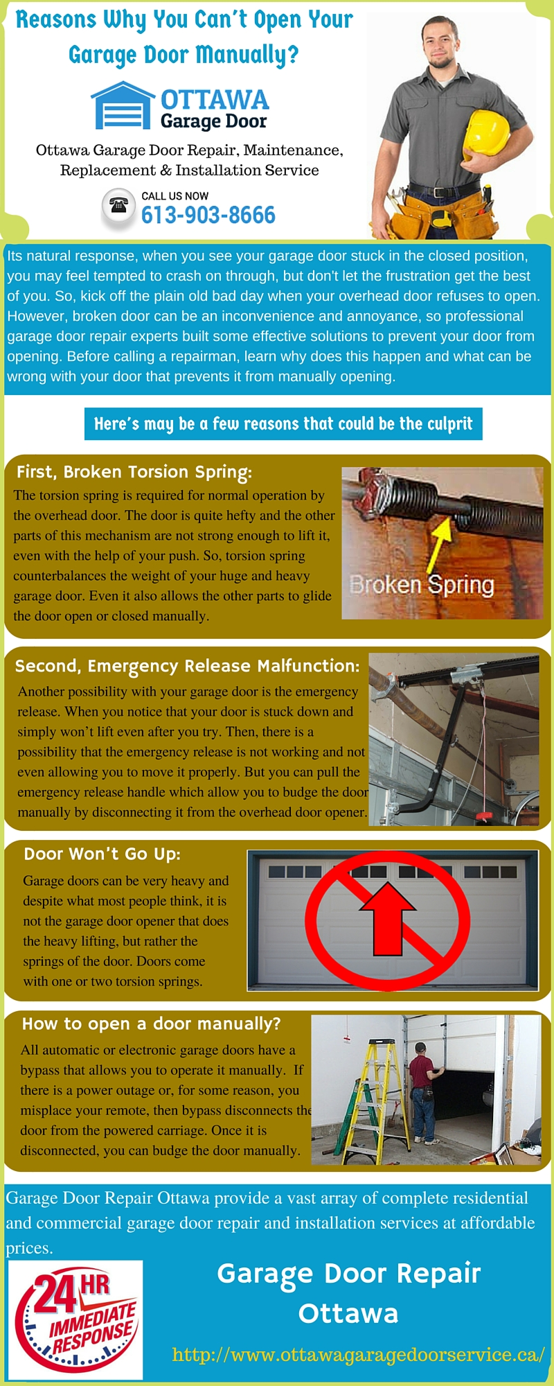 Reasons Why You Can Not Open Your Garage Door Manually Free Images