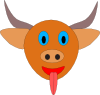 Bull S Head Cartoon Clip Art