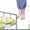 Alone In Bed Clipart Image