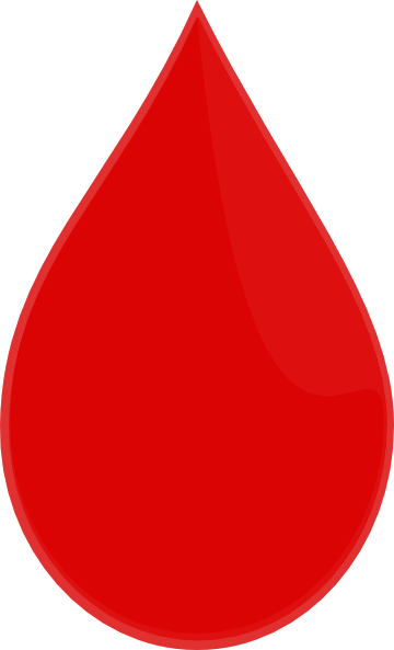 clipart picture of blood - photo #33