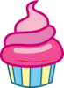Mlp Cupcake Vector Image