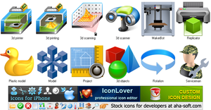 Preview - Free 3d Printer Icons Image