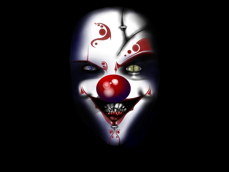 Online evil clown mask Evil clown tattoo - body art and tattoos online