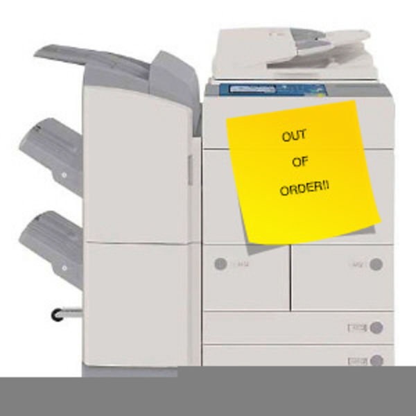 Broken Printer Clipart Free Images At Clker Com Vector Clip Art