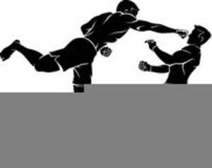 Free Mixed Martial Arts Clipart Image