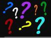 Question Marks Clipart Image