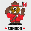 Us Canada Flag Clipart Image