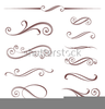 Vectorized Scroll Clipart Image
