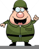 Army General Clipart Image