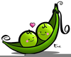 Two Peas In A Pod Clipart Image