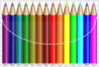Coloring Pencils Clip Art