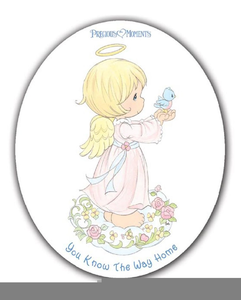 Free Precious Moments Angel Clipart Image