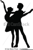 Free Ballet Dancing Clipart Image