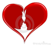 Angels And Hearts Clipart Image