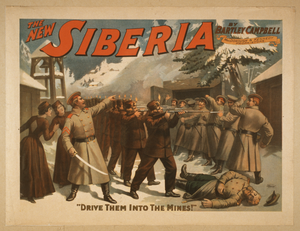 The New Siberia By Bartley Campbell. Image