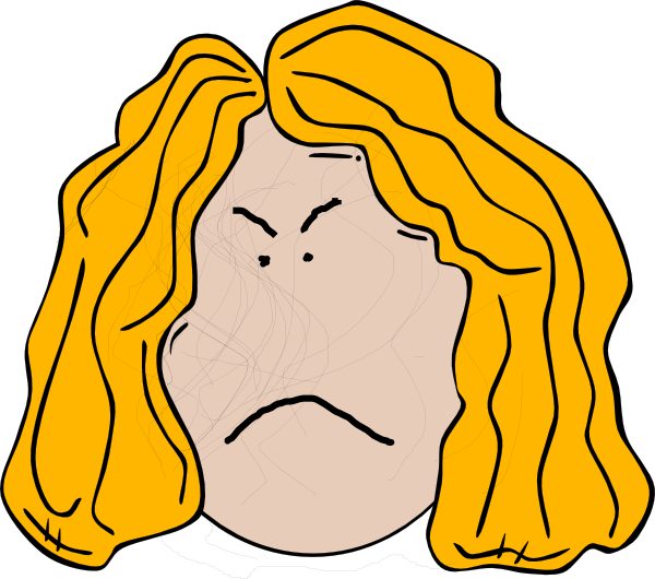 angry girl cartoon faces clip art MEMEs