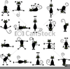 Clipart Of Black Cats Image