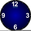 Clipart Of A Clock Face Image