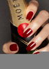 Red Champagne Nails Image
