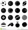 Football Clipart Black Background Image