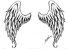 Angel Wings Tatoo By Spirogs Image