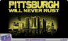 Pittsburgh Will Never Rust Tshirt G Bh Image