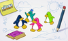 My Journey In Club Penguin Penguins Image