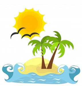 Island free images at vector clip art online for Clipart mare