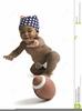 African American Baby Clipart Image