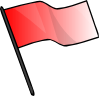 Red Flag Clip Art