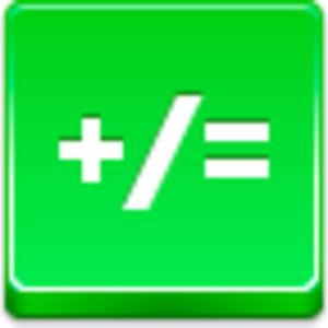 Free Green Button Math Image
