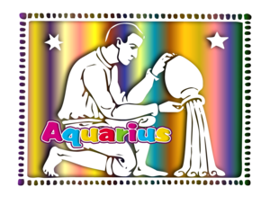Aquarius Of The Zodiac Image