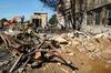 Debris On The Pentagon Grounds Image