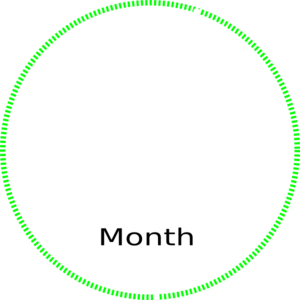 Circle With Month Clip Art at Clker.com - vector clip art online ...