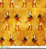 Clipart Of Egyptian Gods Image