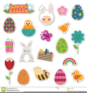 Free Clipart Images Of Easter Eggs Image